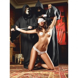Baci - White Wedding Love Slave One Size