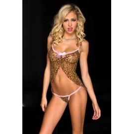 Babydoll Leopardi